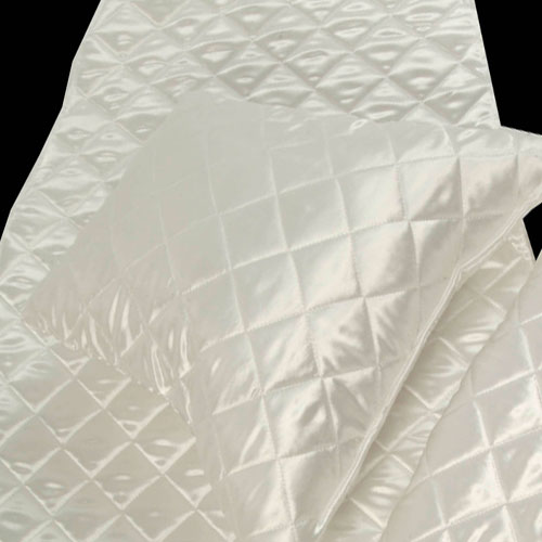 Quilted funeral supplies